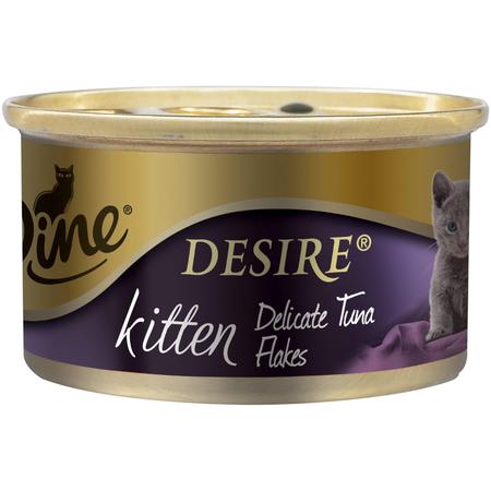 Dine Desire Kitten Delicate Tuna Flakes - 85gm