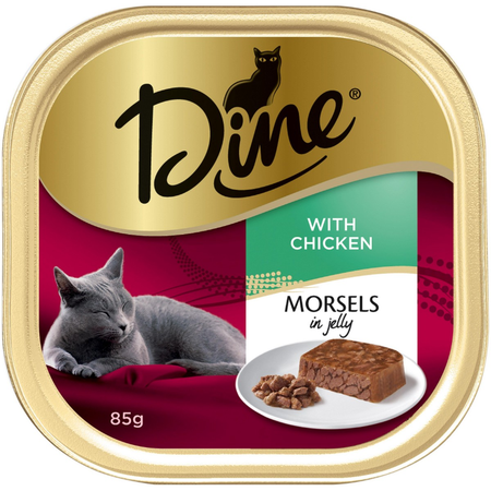 Dine Jelly Morsels with Chicken 85g