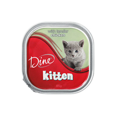 Dine Kitten Tender Chicken - 85gm