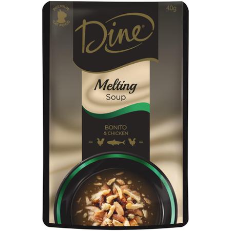 Dine Melting Soup Bonito & Chicken - 40gm