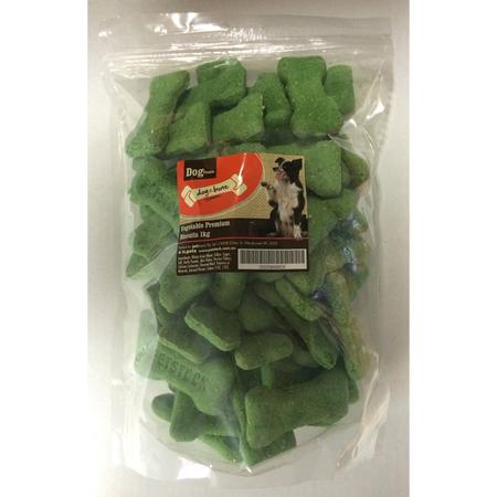 Dog N Bone Premium Biscuits Vegetable 1kg