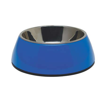 Dogit 2 in 1 Durable Dog Bowl Blue 350ml