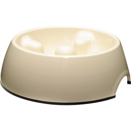 Dogit Go Slow Anti Gulp Dog Bowl White 1.2L