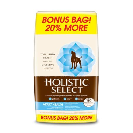 Holistic Select Anchovy Sardine and Salmon Dry Dog Food 16.3kg Bonus Bag