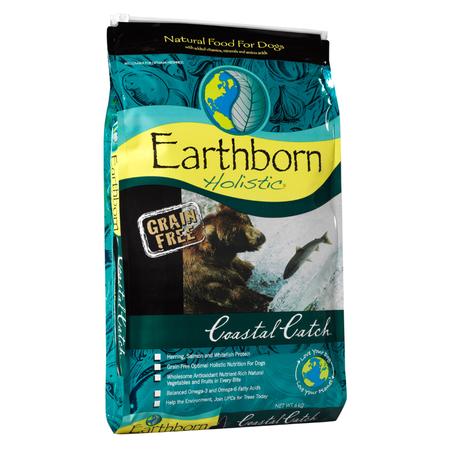 Earthborn Holistic Coastal Catch Grain Free Fish Dry Dog Food  6.3kg