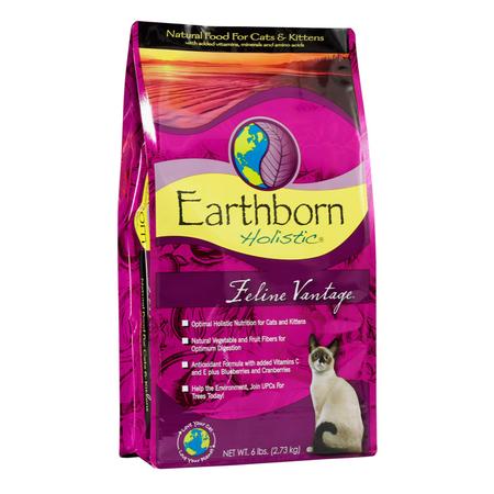 Earthborn Holistic Feline Vantage Chicken Dry Cat Food  2.7kg