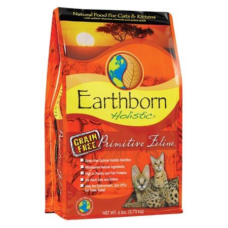 Earthborn Holistic Primitive Feline Grain Free Dry Cat Food  2.7kg