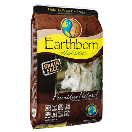 Earthborn Holistic Primitive Natural Grain Free Chicken Dry Dog Food  12kg
