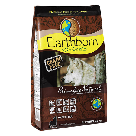 Earthborn Holistic Primitive Natural Grain Free Chicken Dry Dog Food  2.5kg