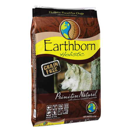 Earthborn Holistic Primitive Natural Grain Free Chicken Dry Dog Food  6kg
