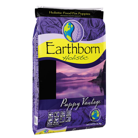 Earthborn Holistic Puppy Vantage Chicken and Fish Meal Dry Puppy Food  12.7kg