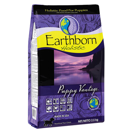 Earthborn Holistic Puppy Vantage Chicken and Fish Meal Dry Puppy Food  2.5kg