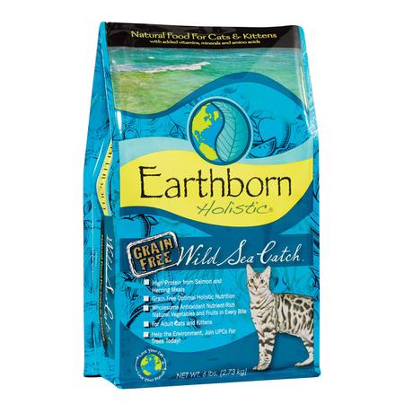 Earthborn Holistic Wild Sea Catch Grain Free Fish Dry Cat Food  2.7kg