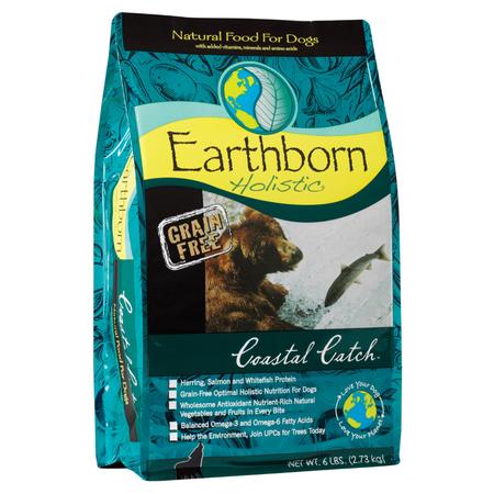 Earthborn Holistic - Coastal Catch - Grain Free Fish - Dry Dog Food