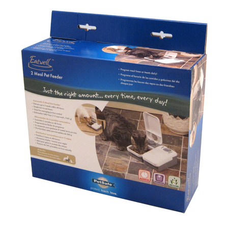Eatwell 2 Meal Pet Feeder
