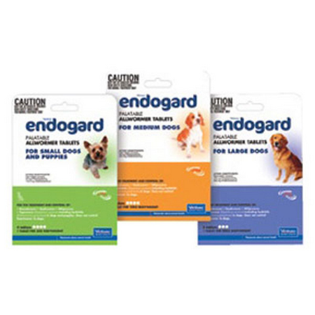 Endogard Wormer 4 Pack - Medium Dog