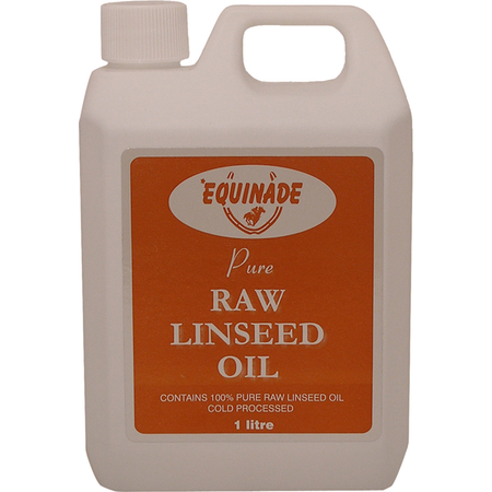 Equinade Raw Linseed Oil Omega Supplement for Horses  1L