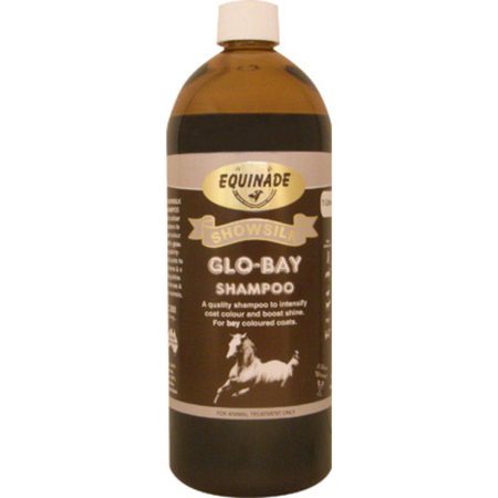 Equinade Showsilk Glo Bay Shampoo for Horses  1L