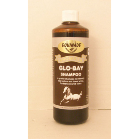 Equinade Showsilk Glo Bay Shampoo for Horses  500ml