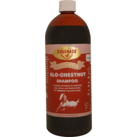 Equinade Showsilk Glo Chestnut Shampoo for Horses  1L