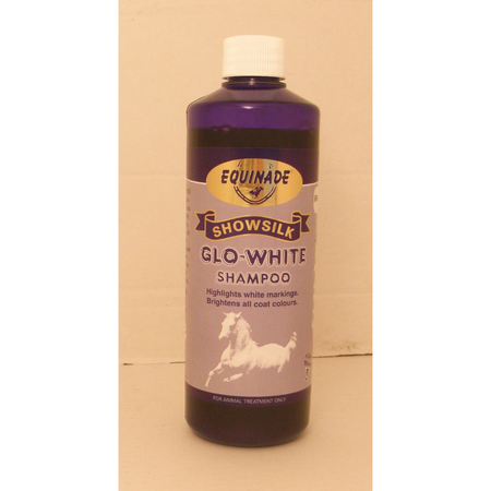 Equinade Showsilk Glo White Shampoo for Horses  500ml