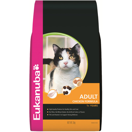Eukanuba Adult Chicken Dry Cat Food  3kg