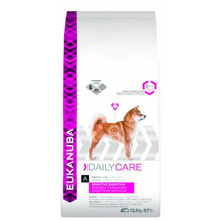 Eukanuba Adult Sensitive Digestion Dry Dog Food  12.5kg