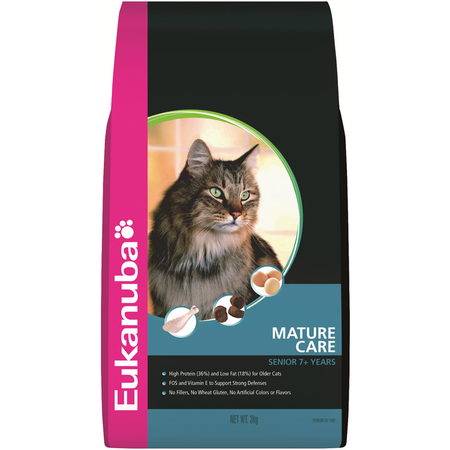 Eukanuba Cat Adult Senior Rich in Chicken with Liver - 3kg