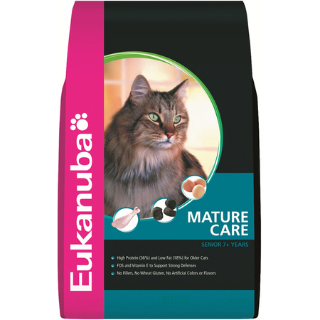 Eukanuba Cat Senior Adult Rich In Chicken With Liver - 1.5kg