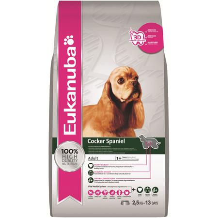 Eukanuba Dog Cocker Spaniel - 2.5kg