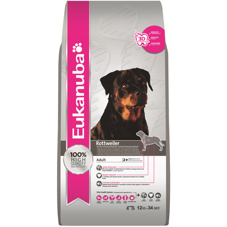 Eukanuba Rottweiler Dry Dog Food 12kg
