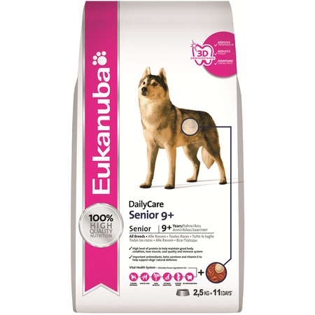 Eukanuba Dog Senior 9+ - 2.5kg