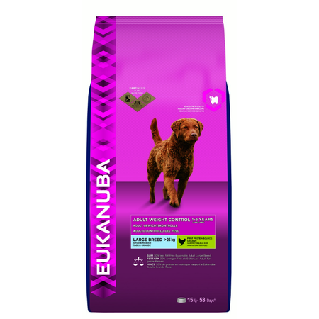 Eukanuba Dog Weight Control Large Breed 15kg