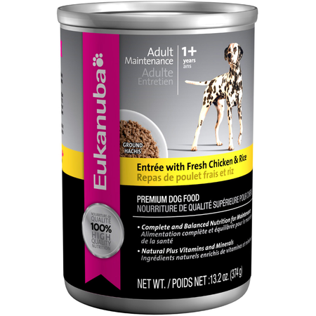Eukanuba Entree with Chicken & Rice - 374gm