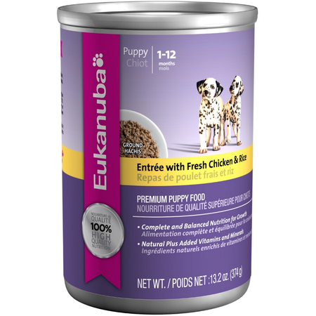 Eukanuba Entree with Lamb & Rice - 374gm