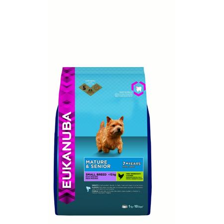 Eukanuba Mature and Senior Small Breed Chicken Dry Dog Food  1kg