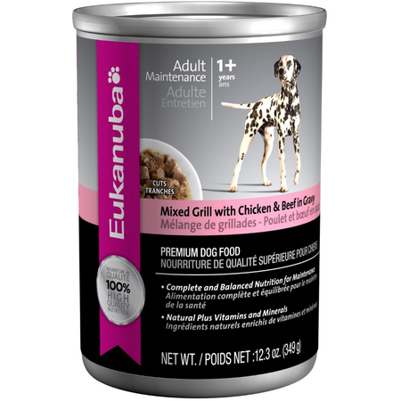 Eukanuba Mixed Grill with Chicken & Beef - 374gm