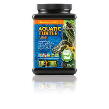 Exo Terra Adult Aquatic Turtle Pelleted Food 530gm