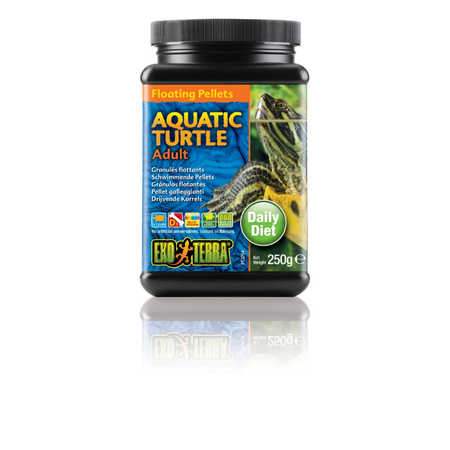 Exo Terra Adult Aquatic Turtle Pelleted Food  250gm