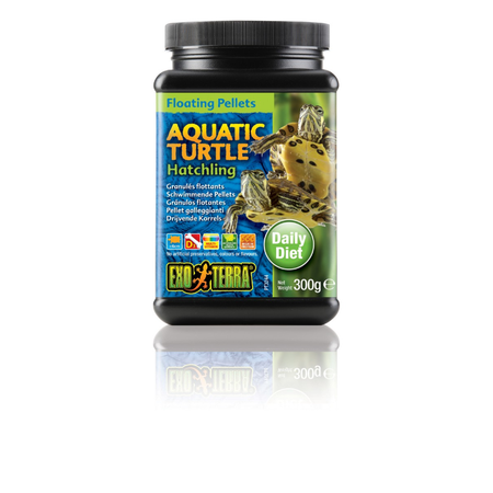 Exo Terra Aquarium Turtle Food Hatchling - 300gm