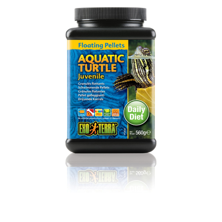 Exo Terra Aquarium Turtle Food Juvenile - 560gm