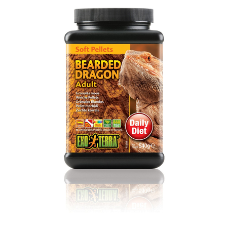 Exo Terra Bearded Dragon Food Adult - 540gm
