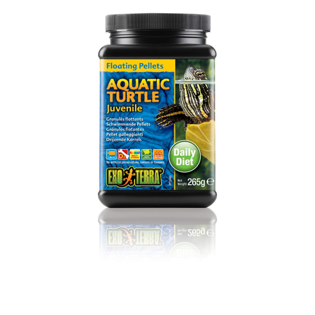 Exo Terra Juvenile Aquatic Turtle Pelleted Food  265gm