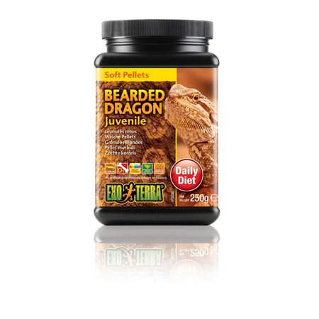 Exo Terra Juvenile Bearded Dragon Food 250gm