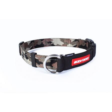 EzyDog Checkmate Nylon Correction Dog Collar Green Large (44-65cm)