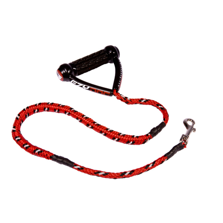EzyDog Cujo Shock Absorbing, Dog Lead Red Medium/Large (15cm Stretch)