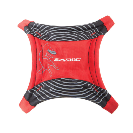 EzyDog Dog Star Flyer Red
