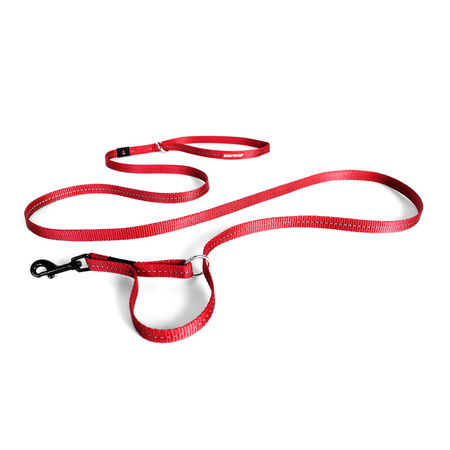 EzyDog Vario 4 Lite Multi Function Dog Lead Red