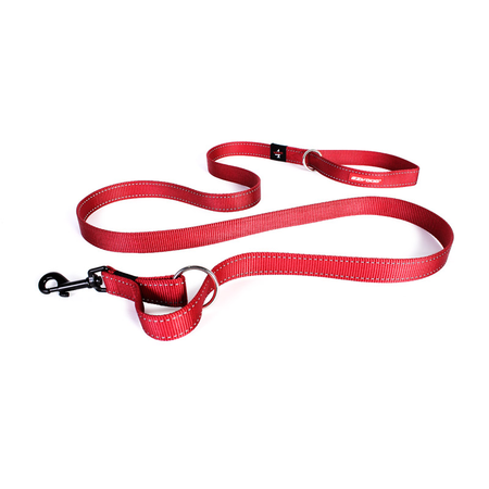 EzyDog Vario 4 Multi Function Dog Lead Red