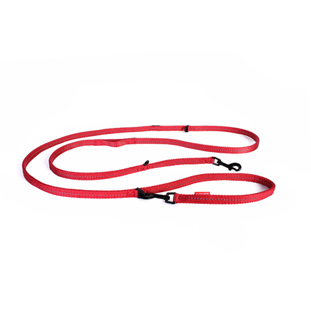 EzyDog Vario 6 Lite Multi Function Dog Lead Red